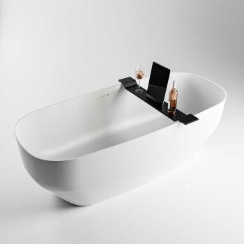 badewannenablage schwarz solid surface easy 86 x 12,5 x...