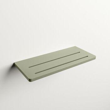 wandablage bad army grün solid surface easy 31 x 14...