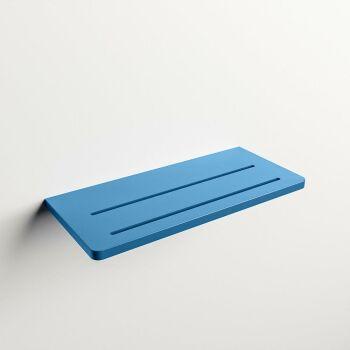 wandablage bad blau solid surface easy 31 x 14 x 1,2 cm