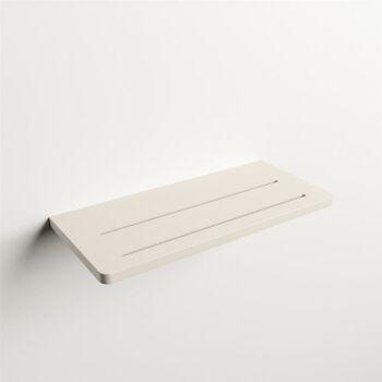 wandablage bad leinen solid surface easy 31 x 14 x 1,2 cm