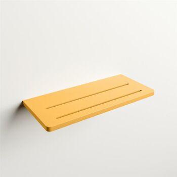 wandablage bad gelb solid surface easy 31 x 14 x 1,2 cm