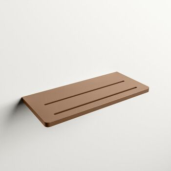 wandablage bad rost solid surface easy 31 x 14 x 1,2 cm