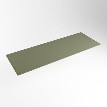 einbauplatte army grün solid surface 130 x 46 x 0,9 cm
