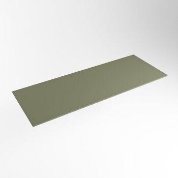 einbauplatte army grün solid surface 111 x 41 x 0,9 cm