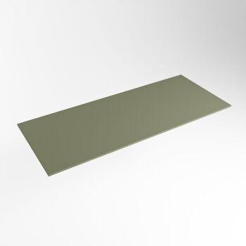 einbauplatte army grün solid surface 101 x 41 x 0,9 cm