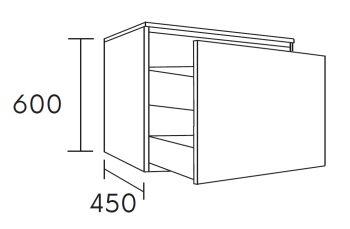 waschtischunterschrank flott 60 cm m41107