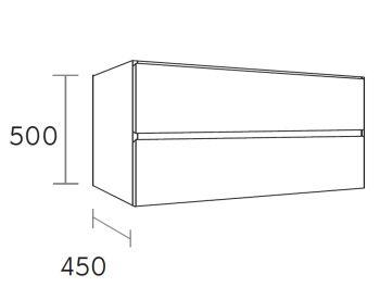 waschtischunterschrank hay 100 cm m45103