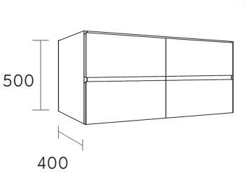 waschtischunterschrank hay 140 cm m45229